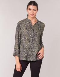 Oblečenie Ženy Blúzky One Step CARLY CHEMISE Kaki / Viacfarebná