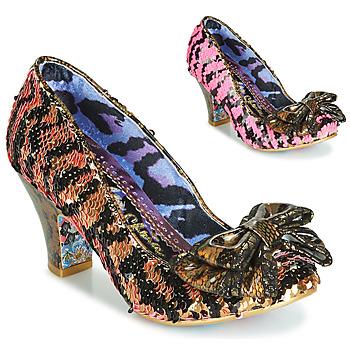 Topánky Ženy Lodičky Irregular Choice LADY BANJOE Čierna / Zlatá