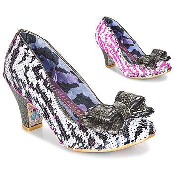 Topánky Ženy Lodičky Irregular Choice LADY BANJOE Biela / Čierna