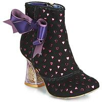 Topánky Ženy Čižmičky Irregular Choice OUTTA TIME Čierna
