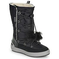 Topánky Dievčatá Obuv do snehu Geox J SLEIGH GIRL B ABX Čierna
