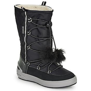 Topánky Dievčatá Snehule  Geox J SLEIGH GIRL B ABX Čierna