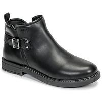 Topánky Dievčatá Polokozačky Geox J ECLAIR GIRL Čierna