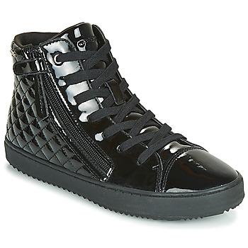 Topánky Dievčatá Členkové tenisky Geox J KALISPERA GIRL Čierna