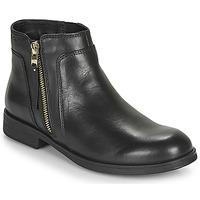 Topánky Dievčatá Polokozačky Geox JR AGATA Čierna