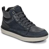 Topánky Chlapci Členkové tenisky Geox J MATTIAS B BOY ABX Modrá / Čierna