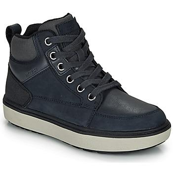 Topánky Chlapci Členkové tenisky Geox J MATTIAS B BOY ABX Modrá / Čierna / Morská modrá