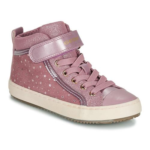 Topánky Dievčatá Členkové tenisky Geox J KALISPERA GIRL Ružová