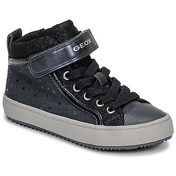 Topánky Dievčatá Členkové tenisky Geox J KALISPERA GIRL Modrá