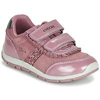 Topánky Dievčatá Nízke tenisky Geox B SHAAX Ružová