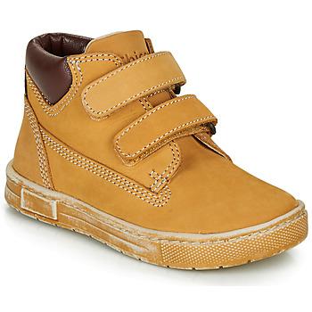 Topánky Chlapci Členkové tenisky Chicco CLAY Okrová-svetlá hnedá