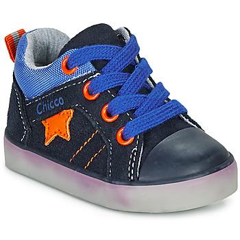 Topánky Chlapci Členkové tenisky Chicco GRADO Modrá