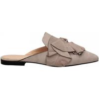 Topánky Ženy Nazuvky Elvio Zanon CAMOSCIO lavanda