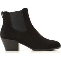 Topánky Ženy Nízke čižmy Hogan HXW4010W890CR0B999 nero