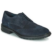 Topánky Muži Derbie Geox U BRENSON D Námornícka modrá