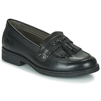 Topánky Dievčatá Derbie Geox JR AGATA A Čierna