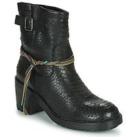 Topánky Ženy Čižmičky Felmini NAHA Čierna