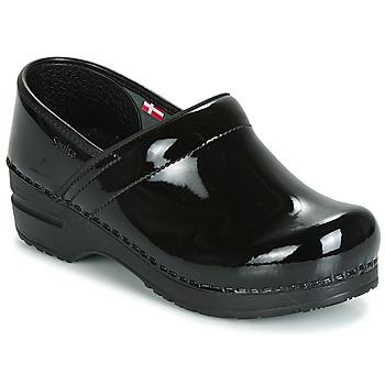 Topánky Ženy Nazuvky Sanita PROF Čierna