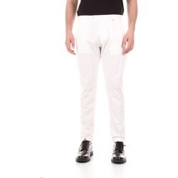 Oblečenie Muži Nohavice päťvreckové Bicolore F2576-ZINCO Bianco