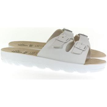 Topánky Ženy Šľapky Mjartan Dámske šľapky  DARLYN 3 biela