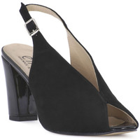 Topánky Ženy Sandále Ellen CAMOSCIO NERO Nero