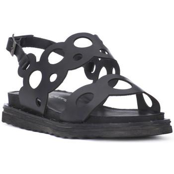 Topánky Ženy Sandále Fluchos SONO ITALIANA CRAST NERO Nero