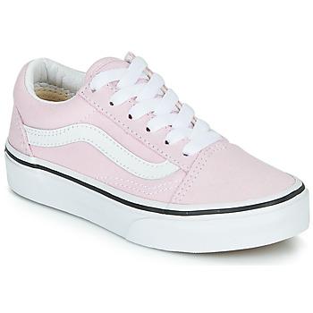 Topánky Dievčatá Nízke tenisky Vans UY OLD SKOOL Ružová