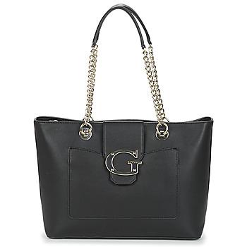 Tašky Ženy Veľké nákupné tašky  Guess CAMILA Čierna