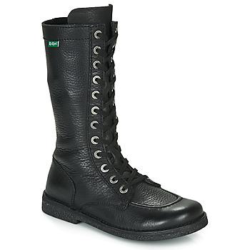Topánky Ženy Čižmy do mesta Kickers MEETKIKNEW Čierna