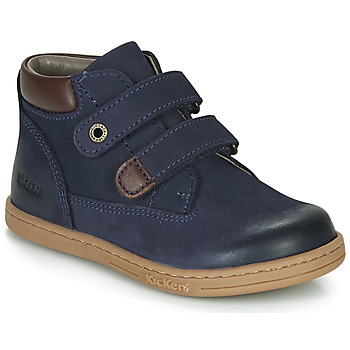 Topánky Chlapci Polokozačky Kickers TACKEASY Námornícka modrá