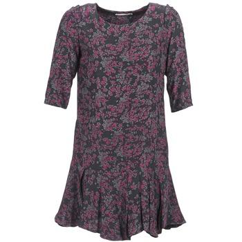 Oblečenie Ženy Krátke šaty See U Soon BOETICO Čierna / Fialová