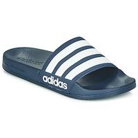 Topánky športové šľapky adidas Performance ADILETTE SHOWER Námornícka modrá