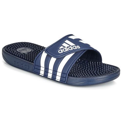 Topánky športové šľapky adidas Performance ADISSAGE Námornícka modrá