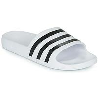 Topánky športové šľapky adidas Performance ADILETTE AQUA Biela