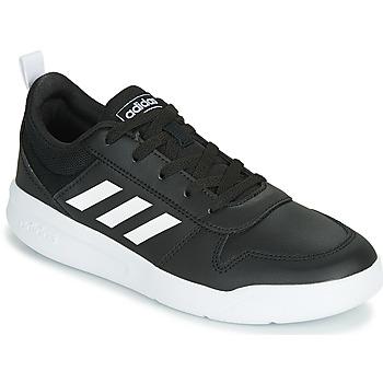 Topánky Deti Nízke tenisky adidas Performance VECTOR K Čierna / Biela