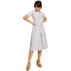 Oblečenie Ženy Saká a blejzre Be B120 Midi šaty vo fitted strihu - čierne