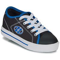 Topánky Chlapci Kolieskové topánky Heelys CLASSIC X2 Čierna / Biela / Modrá