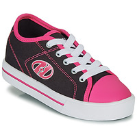 Topánky Dievčatá Kolieskové topánky Heelys CLASSIC X2 Čierna / Ružová