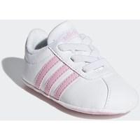 Topánky Dievčatá Nízke tenisky adidas Originals VL Court 20 Crib Biela