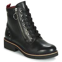 Topánky Ženy Polokozačky Pikolinos VICAR W0V Čierna