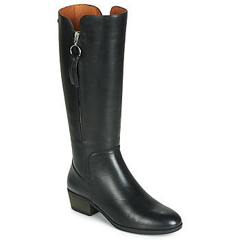 Topánky Ženy Čižmy do mesta Pikolinos DAROCA W1U Čierna