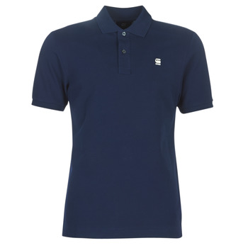 Oblečenie Muži Polokošele s krátkym rukávom G-Star Raw DUNDA SLIM POLO Modrá