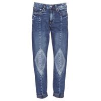 Oblečenie Ženy Džínsy Boyfriend G-Star Raw 3301-L MID BOYFRIEND DIAMOND Modrá / Light / Vintage / Aged