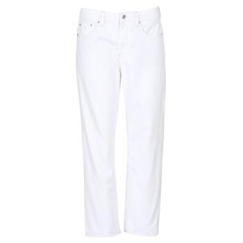Oblečenie Ženy Džínsy Boyfriend G-Star Raw 3301 MID BOYFRIEND 7/8 Biela