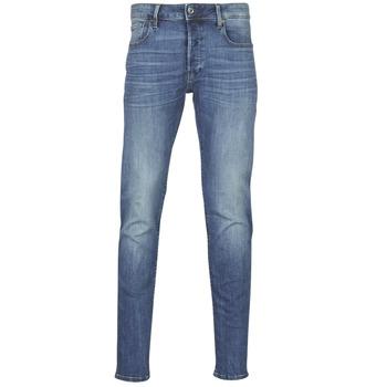Oblečenie Muži Džínsy Slim G-Star Raw 3301 SLIM Modrá / Vintage / Medium / Aged