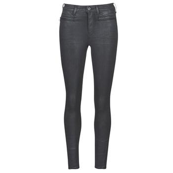 Oblečenie Ženy Džínsy Skinny G-Star Raw ASHTIX ZIP HIGH SUPER SKINNY ANKLE WMN Čierna