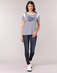 Oblečenie Ženy Džínsy Skinny G-Star Raw LYNN MID SKINNY WMN Modrá / Faded / Modrá