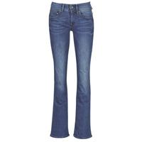 Oblečenie Ženy Džínsy Bootcut G-Star Raw MIDGE MID BOOTCUT WMN Modrá / Faded / Modrá
