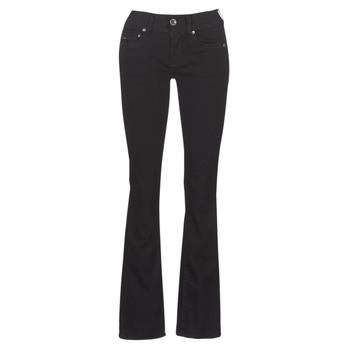 Oblečenie Ženy Džínsy Bootcut G-Star Raw MIDGE MID BOOTCUT WMN Čierna
