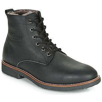 Topánky Muži Polokozačky Panama Jack GLASGOW Čierna